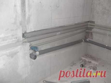 Устанавливаем полотенцесушитель в ванную сами — Самострой