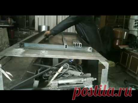 металлические двери своими руками бизнес в гараже
