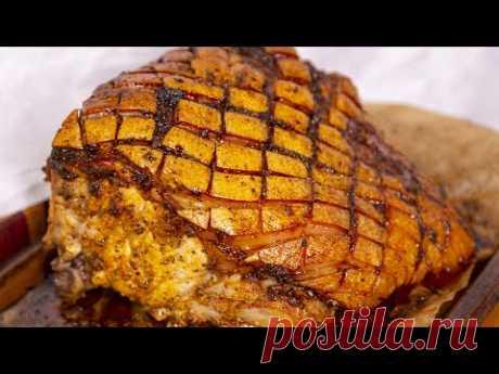 Вкуснее буженины. Мясо в духовке. Соус для свинины и интересное пюре.