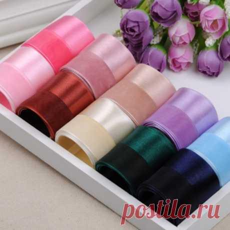 Комбинированная лента 25 мм 12 ярдов, 10 цветов