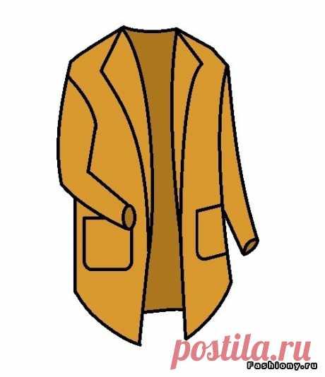 Потрясающий мастер класс от мастерицы — эту модную модель года можно назвать как угодно: пальто, кардиган, длинный жакет | Женский журнал