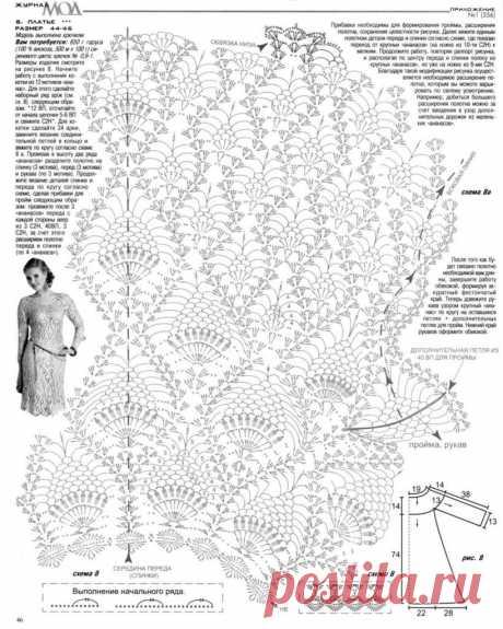 Tunika ananas desen. Tunik Crochet Pattern ananas |