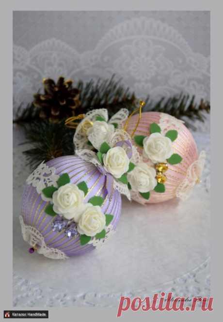 Елочные шары ручной работы купить в Минске и Беларуси, цены на HandMade