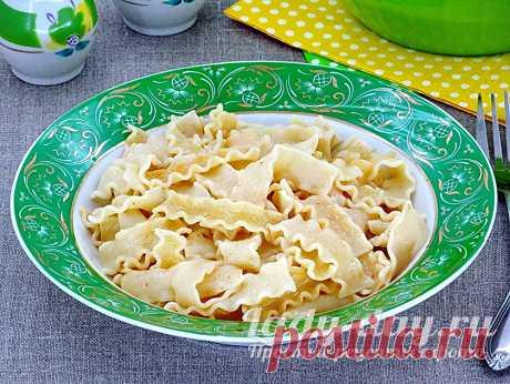 Лапша жареная на сковороде | Простые рецепты с фото