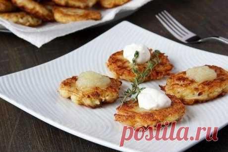 Как приготовить картофельные оладьи - рецепт, ингредиенты и фотографии