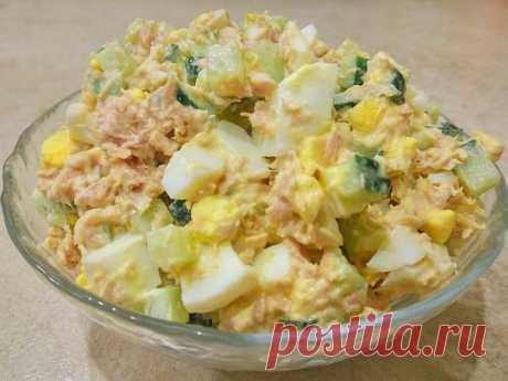 Салат с тунцом – вкусно, быстро и просто!