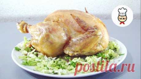 Курица на соли — Кулинарная книга - рецепты с фото