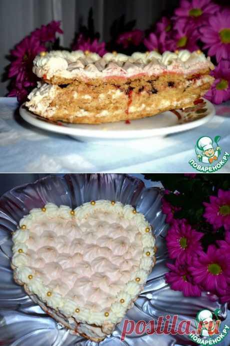 """Торт с безе """"Признание в любви"""" Автор: Irinka777"""