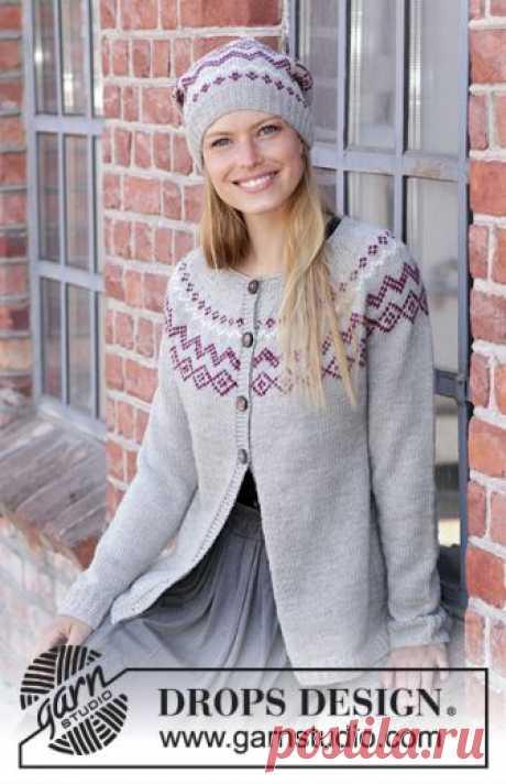 Пуловер Old Mil, Кардиган и шапка Old Mill — HandMade
