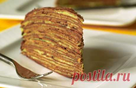 Блинный торт «Маковка» с заварным кремом: рецепт с фото, как приготовить Блинный торт «Маковка» с заварным кремом. Готовим дома вкусный блинный торт «Маковка» с заварным кремом. Простой рецепт приготовления блинного торта «Маковка».