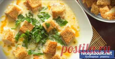 Рецепт сырного супа с курицей и рисом