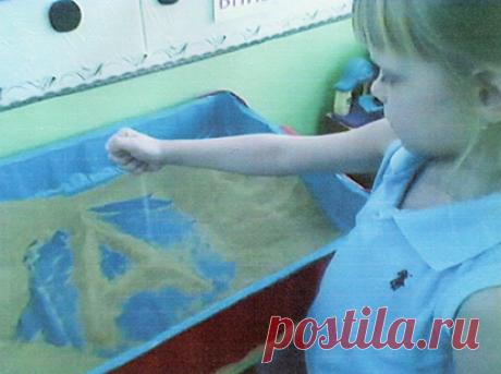 Мастер-класс по созданию песочных картин