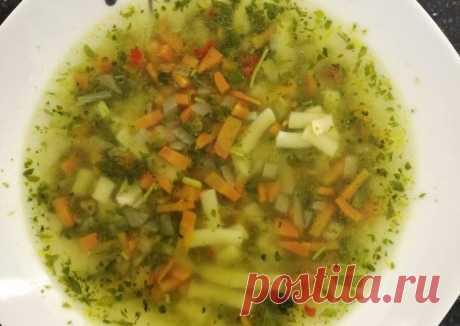 Супчик со шпинатом - пошаговый рецепт с фото. Автор рецепта Олеся . - Cookpad