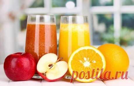 Какие соки являются источником витаминов?