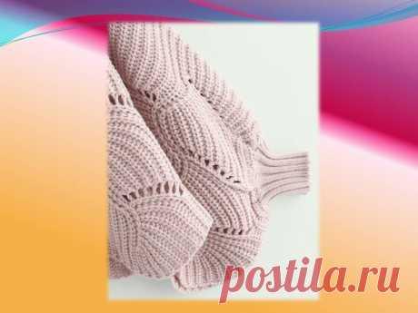 Топ-3 возраста для одной модели пуловера. Вязание спицами,схема. | Венера Хасанова | Яндекс Дзен
