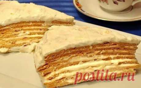 Торт «Парижский коктейль» — Золотые Рецепты