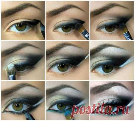 Как правильно сделать восточный макияж - пошаговые фото и видео