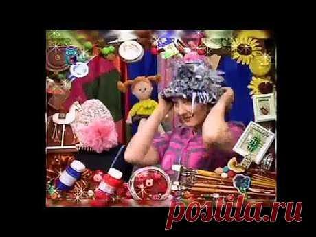 плетение из лент: коврик, шляпка, сумочка, вазочка . мастер-класс