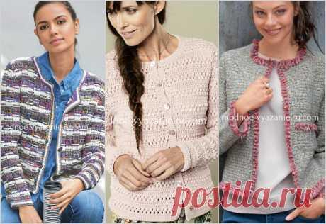 Модные жакеты крючком - Crochet.Modnoe Vyazanie ru.rom
