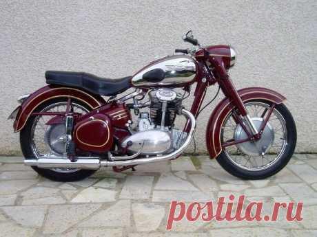 Jawa 500 OHC – последний серийный мотоцикл с 500 кубовым двигателем!
