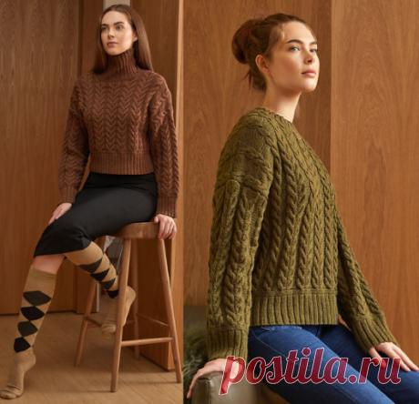 Вязаный свитер Parker | ДОМОСЕДКА