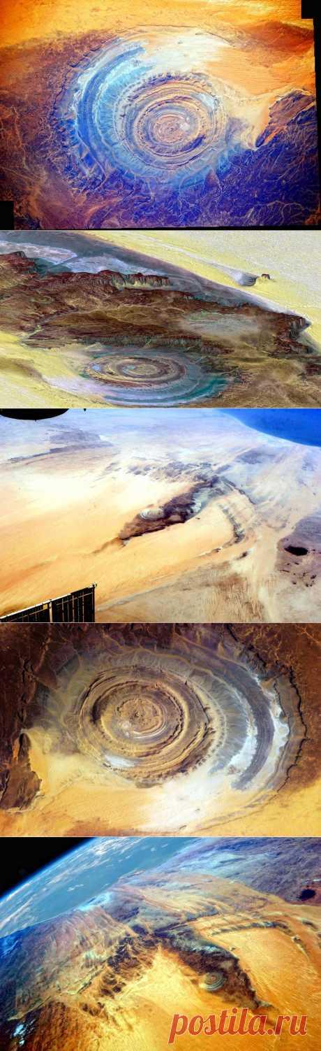 Структура Ришат-Око Земли | В мире интересного