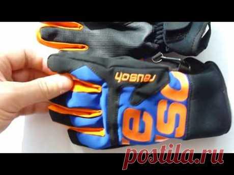 Детские горнолыжные перчатки Reusch Torben R-TEX XT Junior (Сине-оранжево-черные) 700грн