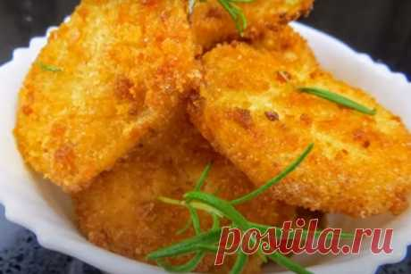 Картофель в хрустящей панировке