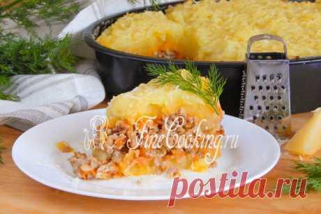 Запеканка из картофельного пюре с фаршем Чаще всего даже очень простые блюда (как по составу, так и в приготовлении) бывают вкусными.