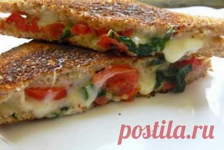 Бутерброды рецепт|Сэндвич сырный