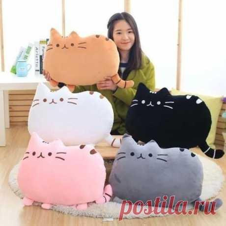 Миленькие кото-подушки