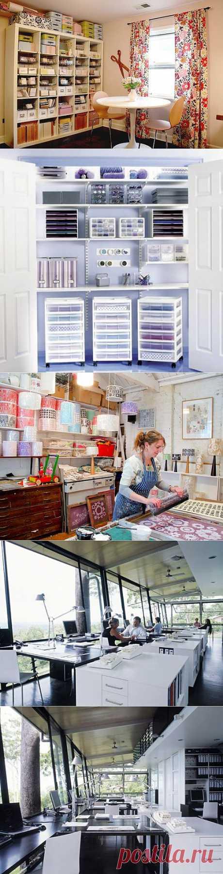Как сделать домашнюю дизайн студию или комнату для рукоделия своими руками: фото идеи | Декор*Интерьеры*Хендмейд мастер-классы