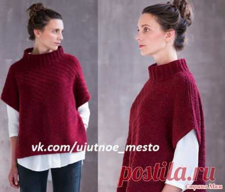 Пуловер-безрукавка спицами - Вязание - Страна Мам