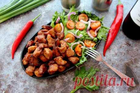 Тушеная свинина в медовом соусе — Sloosh – кулинарные рецепты