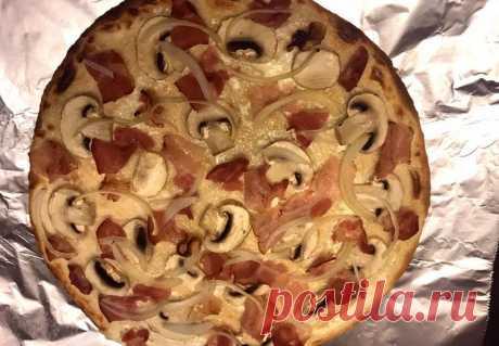 Фламмкухен - пошаговый рецепт с фото