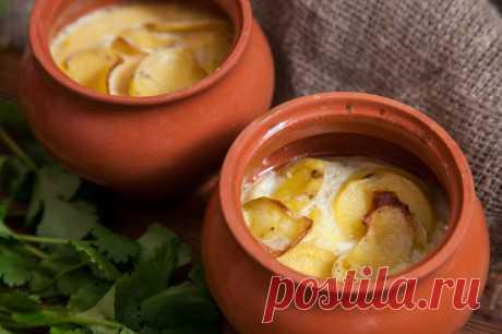 Картошка в горшочке - пошаговый рецепт с фото - как приготовить, ингредиенты, состав, время приготовления - Леди Mail.Ru