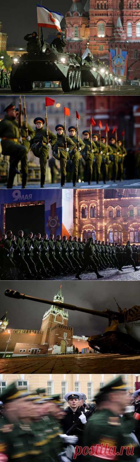 Репетиция парада Победы в Москве | В мире интересного