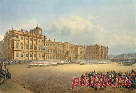 Как император Петр III сделал уборку перед Зимним дворцом после его строительства   Рекомендательная система Пульс Mail.ru