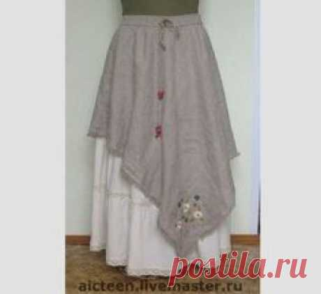 9399f07c96 Handwork skirts. A fair of Masters - handwork the Skirt in style bokho.  Handmade
