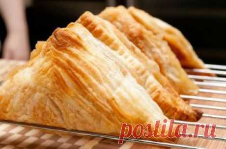 НЕВЕРОЯТНО Вкусное СЛОЕНОЕ Тесто за 10 МИНУТ | Вкусные рецепты