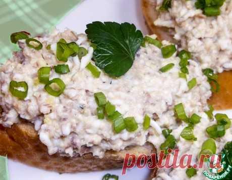 Закуска из рыбных консервов – кулинарный рецепт