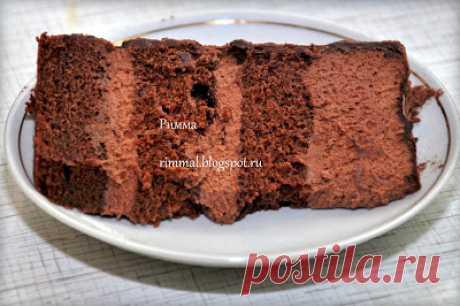 Комплимент от ШЕФА: Шоколадный торт с английским муссом и трюфелями