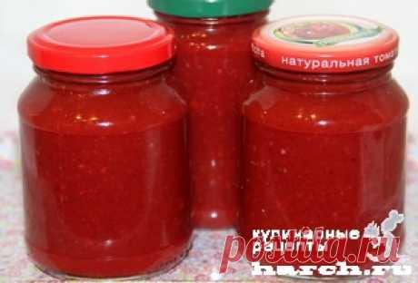 Ткемали из слив на зиму   Фоторецепт с подробным описанием от Харч.ру