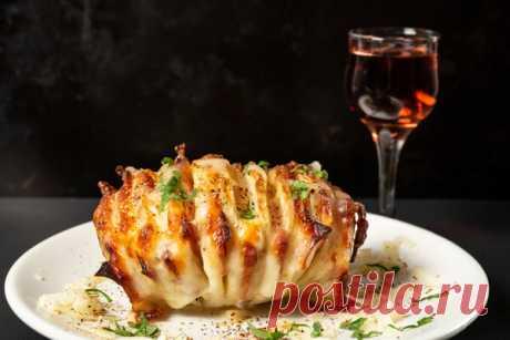 Картошка-гармошка: новый рецепт любимого овоща | ШефМаркет | Яндекс Дзен