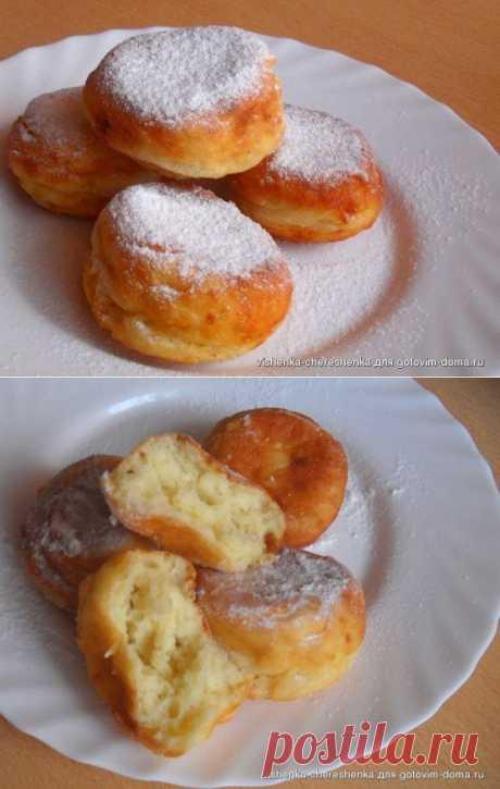 Творожные пончики (ГОСТ) Автор: vishenka-chereshenka