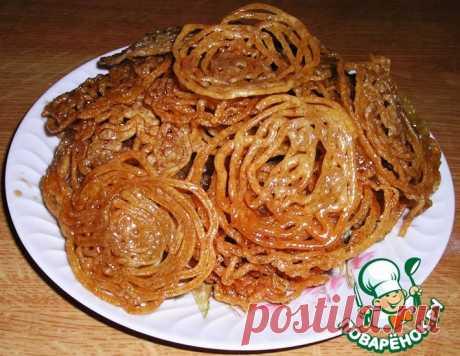 """Индийский десерт """"Джалеби"""" – кулинарный рецепт"""