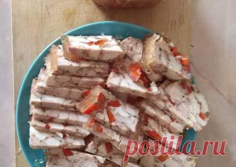 (8) Ленивая куриная ветчина - пошаговый рецепт с фото. Автор рецепта Андрей Омский . - Cookpad