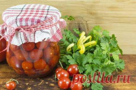 Вкусный рецепт помидоров черри на зиму — пальчики оближешь
