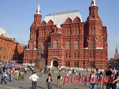 Национальный исторический музей на Красной площади