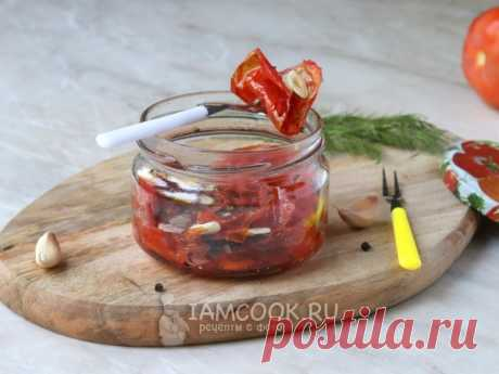 Вяленые помидоры в микроволновке — рецепт с фото Очень удобный и быстрый способ приготовления вяленых помидоров с использованием микроволновой печи.